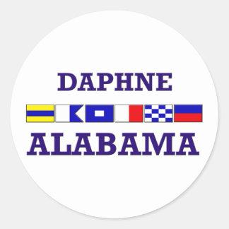 Daphne Flag Sticker