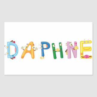 Daphne Sticker
