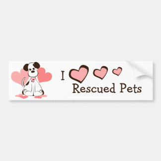 Daphne the Adopted Dog Bumper Sticker