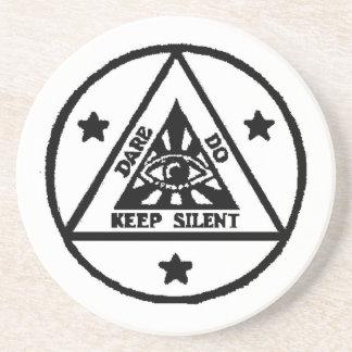 Dare. Do. Keep Silent! The Sorceror's Code! Coaster