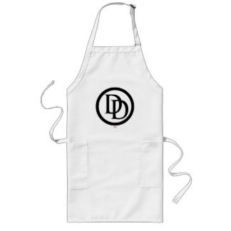 Daredevil Logo Long Apron