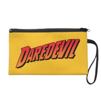 Daredevil Name Logo Wristlet