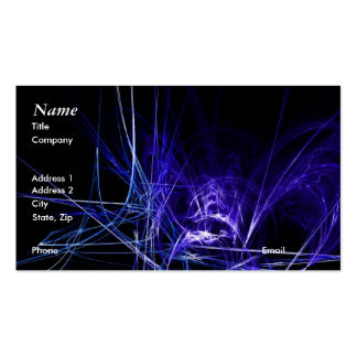 Dark Abstract Business Card