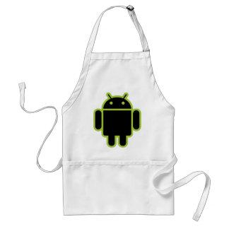 Dark Android Standard Apron