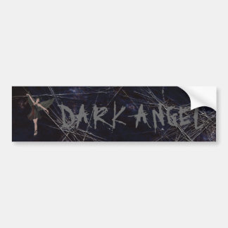 Dark Angel Gothic Bumper Sticker