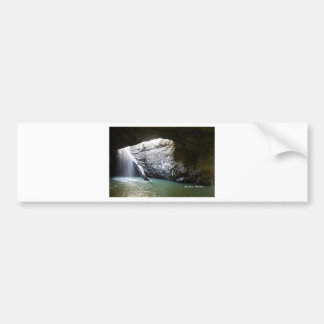 Dark Arch Waterfall Bumper Sticker