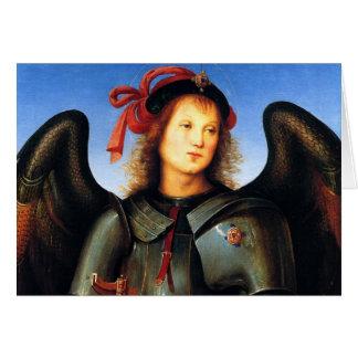 Dark Archangel Michael Card