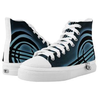 Dark Atomic Shoes