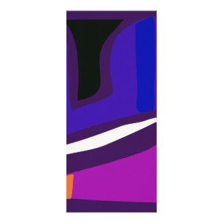 Dark Background Personalized Rack Card