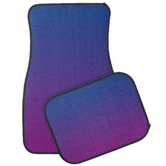 """""""Dark Blue And Purple Ombre"""" Floor Mat"""