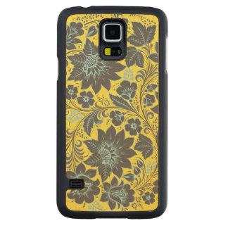 Dark Blue Hohloma Maple Galaxy S5 Slim Case