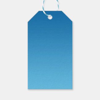 Dark Blue Ombre Gift Tags
