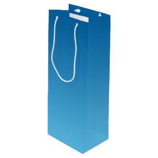 Dark Blue Ombre Wine Gift Bag