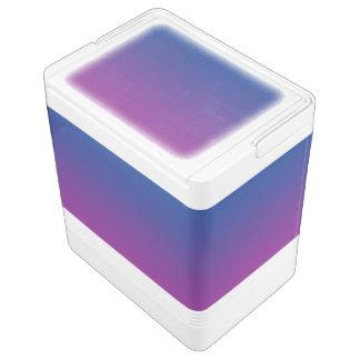 Dark Blue & Purple Ombre Chilly Bin