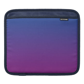 Dark Blue & Purple Ombre iPad Sleeve