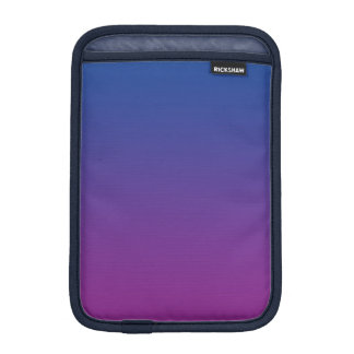 Dark Blue & Purple Ombre Sleeve For iPad Mini