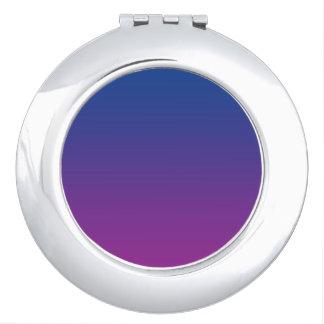 Dark Blue & Purple Ombre Travel Mirrors