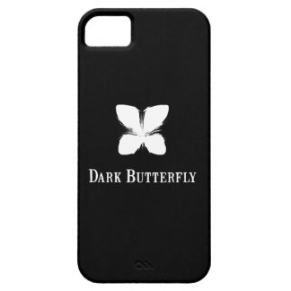 Dark Butterfly Barely There iPhone 5 Case