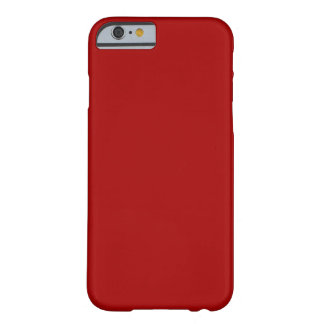 Dark Candy Red Barely There iPhone 6 Case