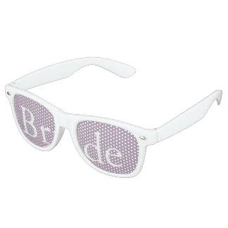 Dark Chalky Pastel Purple Wedding Party Gifts Retro Sunglasses