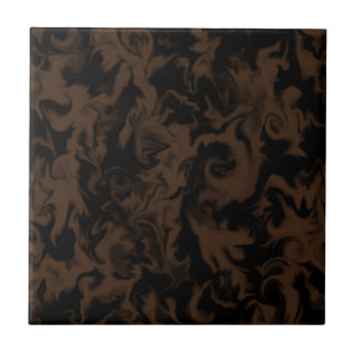 Dark Chocolate & Black mixed color tile