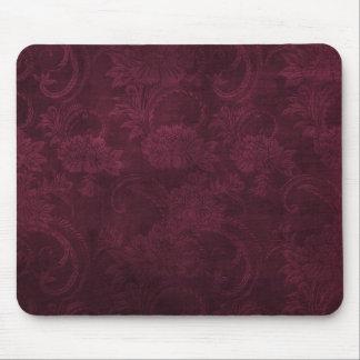 Dark Crimson Gothic Mouse Pad