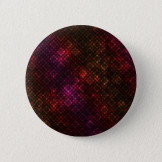 Dark diamond pattern 6 cm round badge