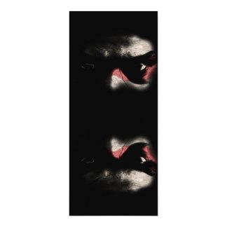 Dark Eyes 10 Cm X 24 Cm Invitation Card