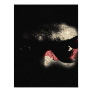 Dark Eyes 11 Cm X 14 Cm Invitation Card