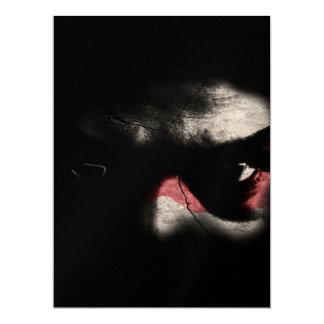 Dark Eyes 6.5x8.75 Paper Invitation Card