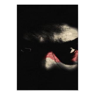 Dark Eyes 5x7 Paper Invitation Card