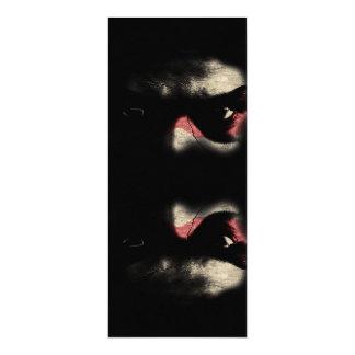 Dark Eyes 4x9.25 Paper Invitation Card