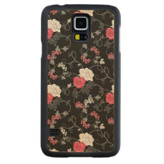 Dark Floral Maple Galaxy S5 Case