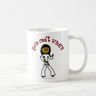 Dark Girl Martial Artist Mug