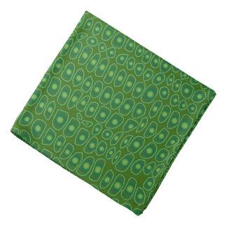 Dark Green Alligator Design Bandana