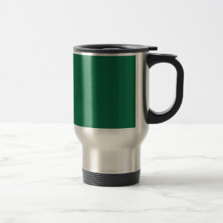 Dark Green 15 Oz Stainless Steel Travel Mug