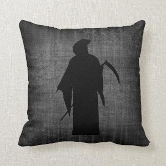 Dark Grim Reaper Gothic Pillow