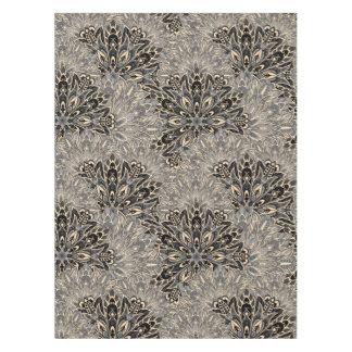 Dark mandala pattern. tablecloth