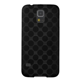 dark metal with dots pattern galaxy s5 covers