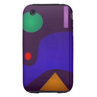 Dark Minimalism iPhone 3 Tough Covers