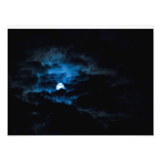 Dark Moon Photo Print