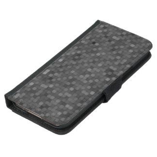 Dark Mosaic Pattern Samsung Galaxy S5 Wallet Case