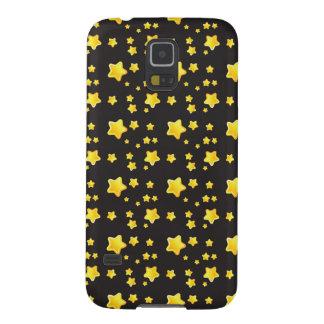 Dark night sky with stars pattern galaxy s5 case
