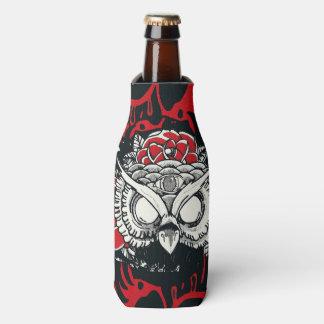 Dark owl bottle cooler
