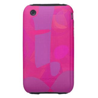 Dark Pink Tough iPhone 3 Cases