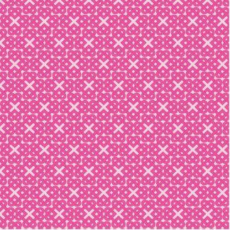 Dark Pink Celtic Love Knots Photo Sculpture Magnet
