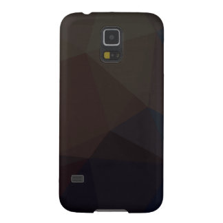 Dark Polygonal Pattern Case For Galaxy S5