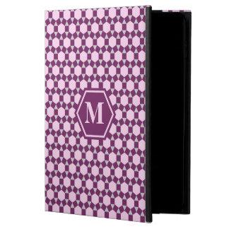 Dark Purple Gray and Pink STH iPad Case