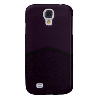 Dark purple texture point galaxy s4 case