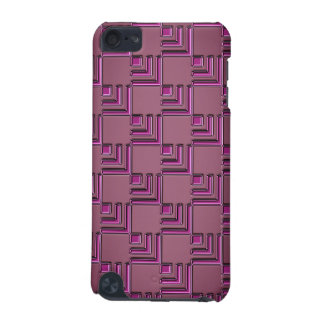 Dark red shining geometrical Design iPod Touch (5th Generation) Covers